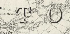 Old earby Map