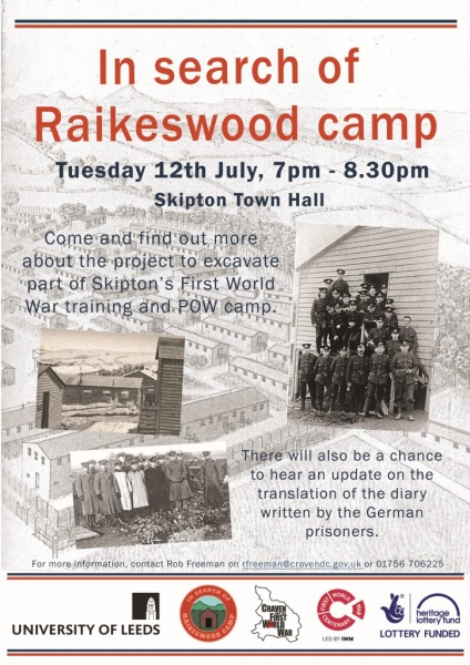 Raikes camp evening poster
