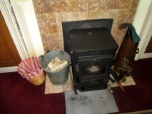 Blackleaded stove