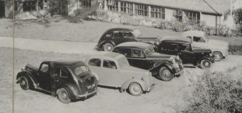 Interesting cars in 1954