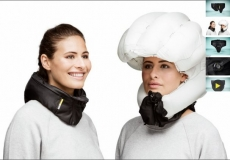 Hovding head airbag for cyclists