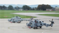 Merlin helicopter and its replacement, the Wildcat