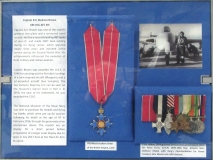 Eric `Winkle' Brown's medals on display