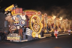 Typical modern gala wagon at Bridgwater Carnival