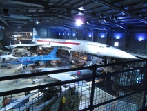 Sud Aviation livery Concorde at FAA Museum, Yeovilton, October 2016