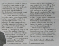 Article from The Times deputy political editor 2