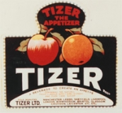 Tizer label from 1924
