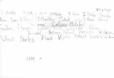 Gisburn Road Primary School 1965 Names
