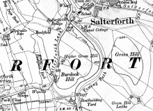 Salterforth map 1914